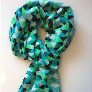 Calvin Klein | Geometric Print Scarf